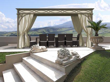 Gazebo Luxury Home di Unosider
