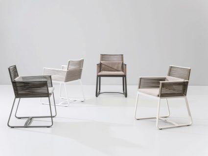 Sedia con braccioli Landscape di Kettal