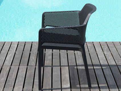 Sedia con braccioli Net di Nardi
