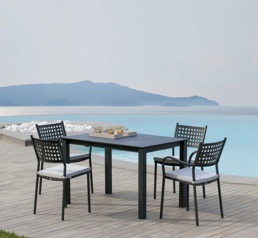 Set pranzo con sedia e tavolo allungabile Alice di Vermobil