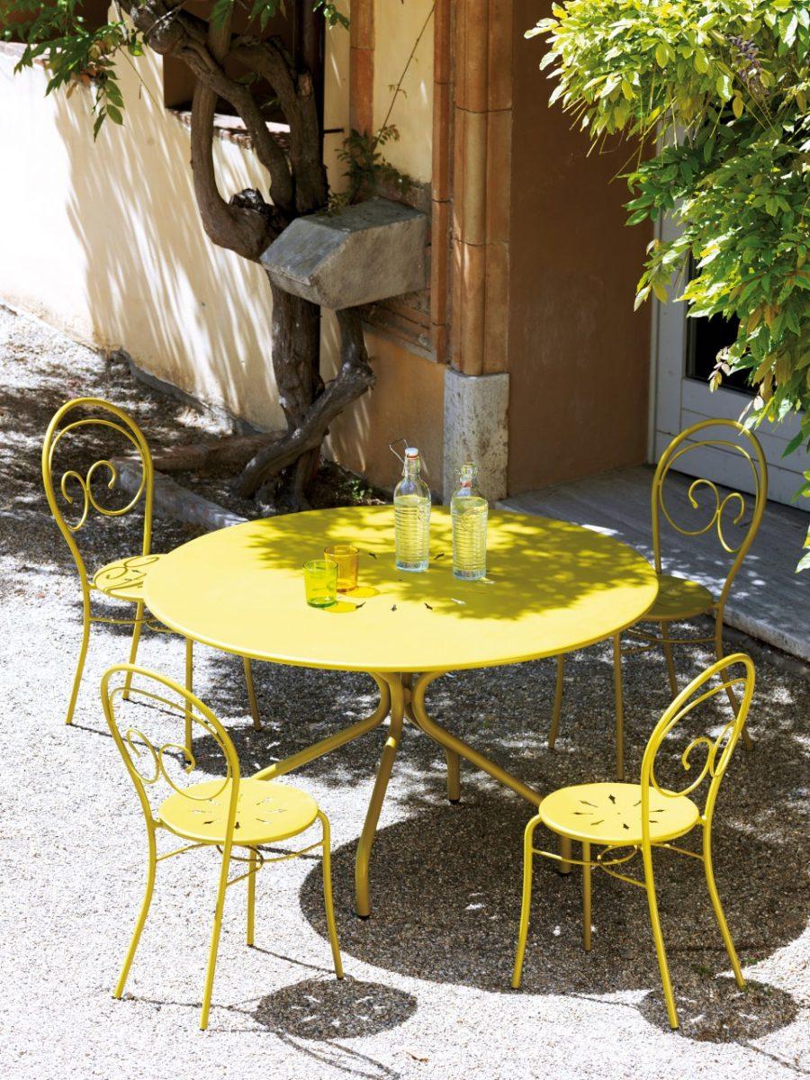 Set pranzo con sedia Mimmo e tavolo Genf / Rondò