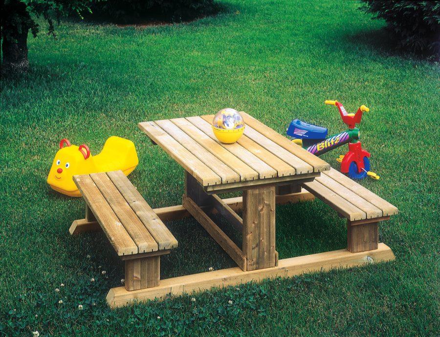 Tavolo con Panche Bamby Il Ceppo