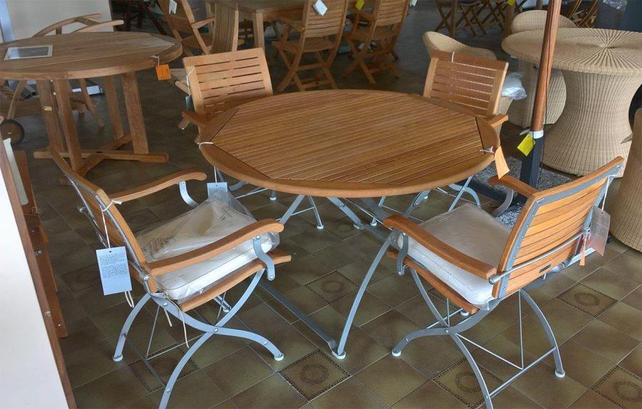 Tavolo e sedie Portorotondo