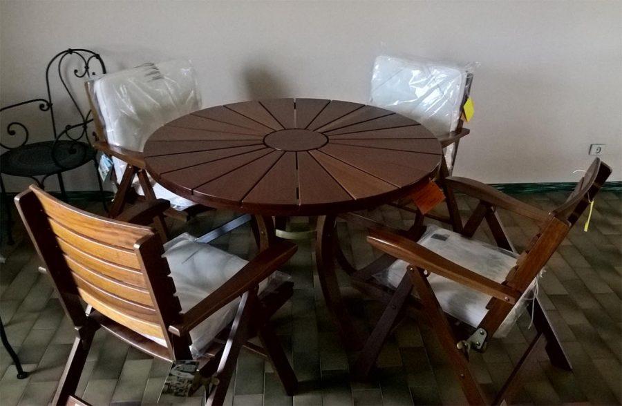 Tavolo e sedie Tentazione